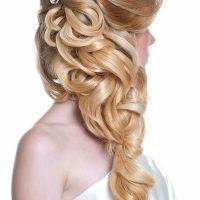Wedding Hair Style on Blonde Hair