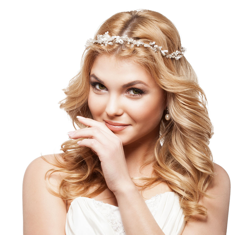 Traditional Wedding Styles For Long Hair Gallery Pure