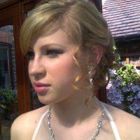 Prom Hair Style on Blonde Hair